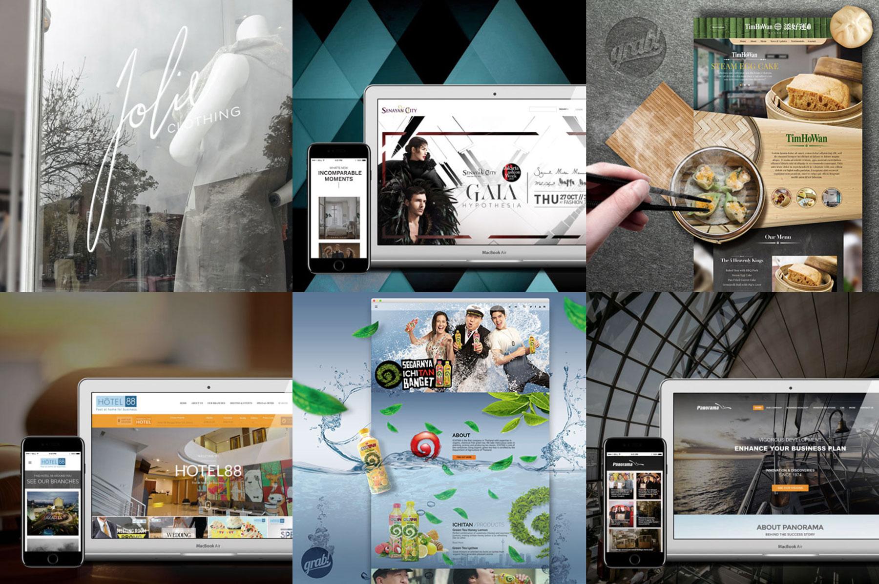 website design jakarta by grab essentials