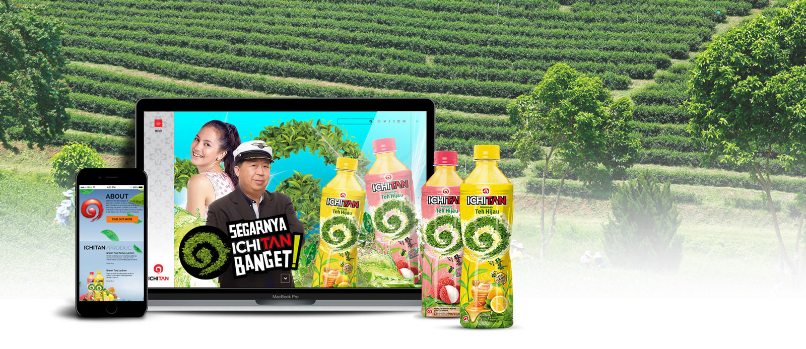 Ichitan website by Grab Essentials