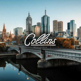 Collins Boulevard Website design by Grab Essentials