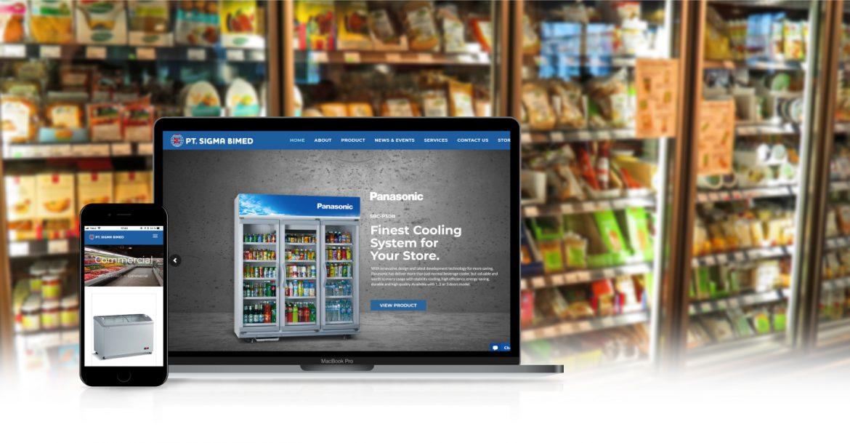 Sigma Bimed website design by Grab Essentials