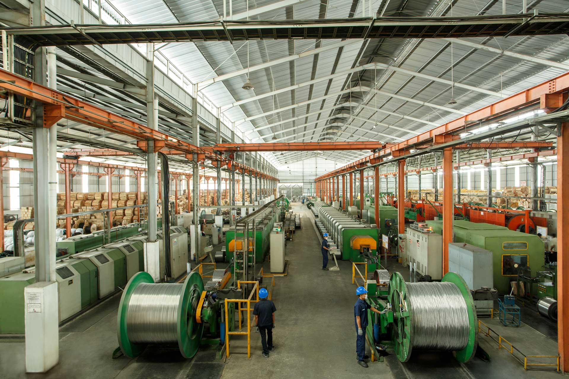 Sutra Kabel pabrik