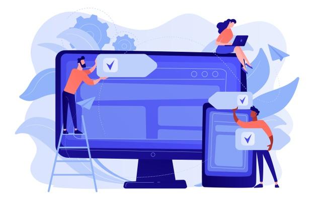 web navigation responsive design