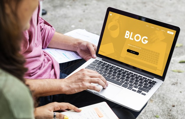 konten blog website